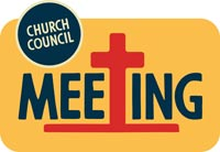 Church Newsletter Resources Church Council Meeting image
